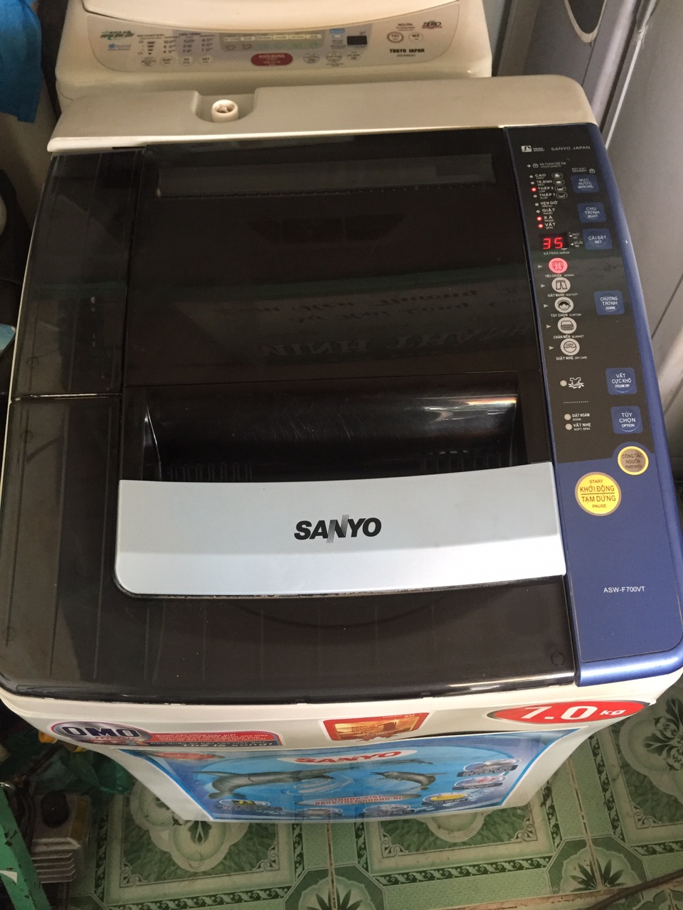 Máy Giặt Cũ SANYO 7kg 95 1