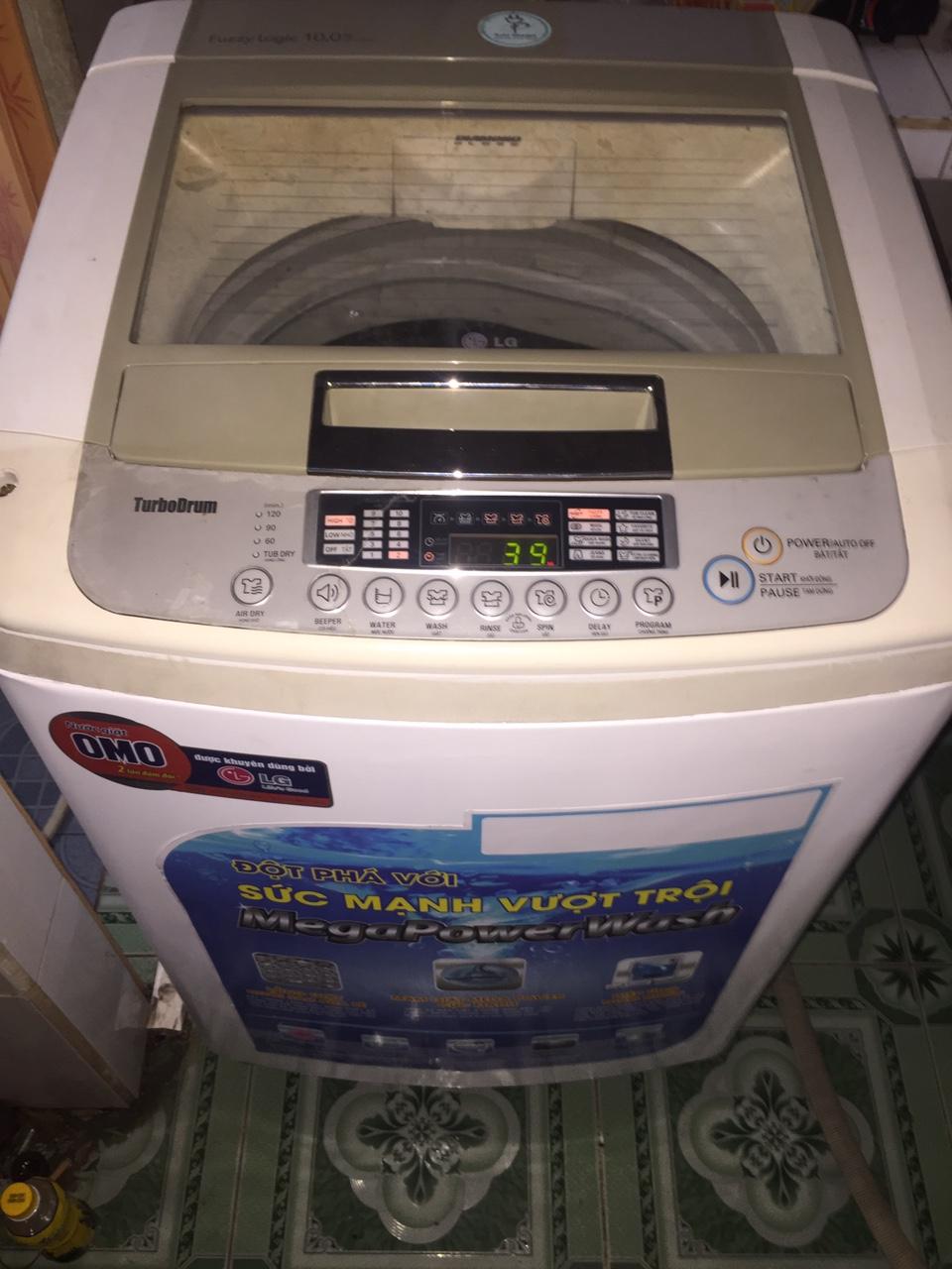 Máy giặt Cũ LG 10kg Ngoại Hình Còn Mới 93%
