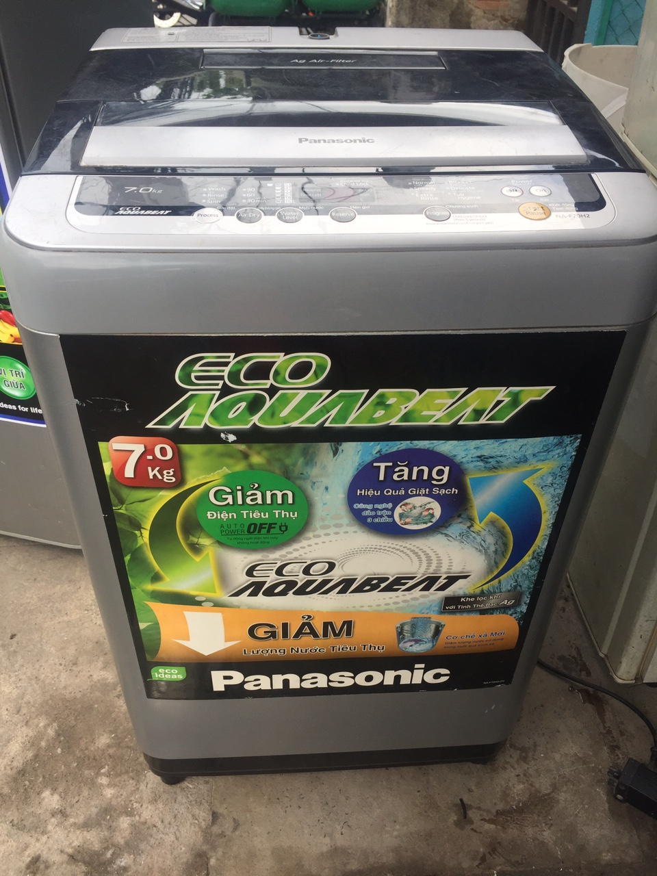 Máy giặt PANASONIC 7KG 98 2