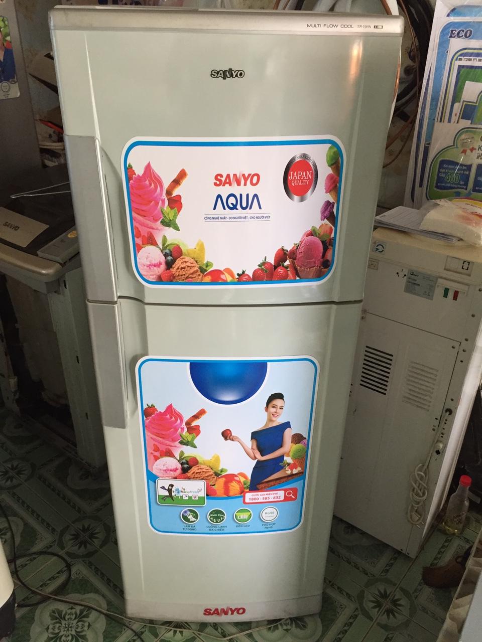 Tủ lạnh Cu SANYO 190l mới 95%-1