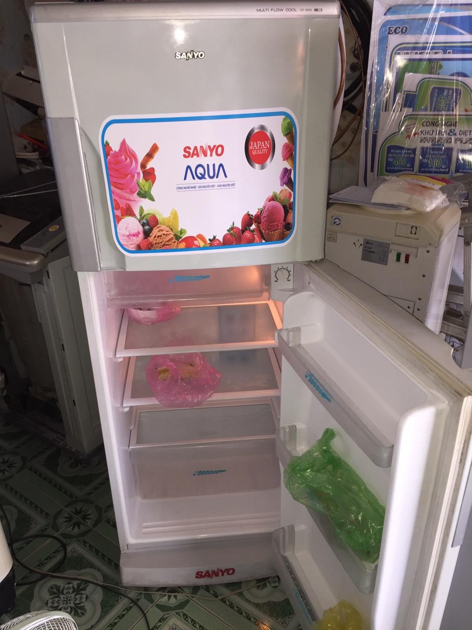 Tủ lạnh Cu SANYO 190l mới 95%-2
