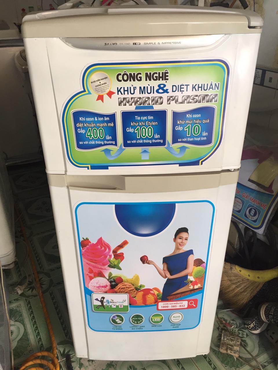 Tủ lạnh sanyo 120l moi 89%-1