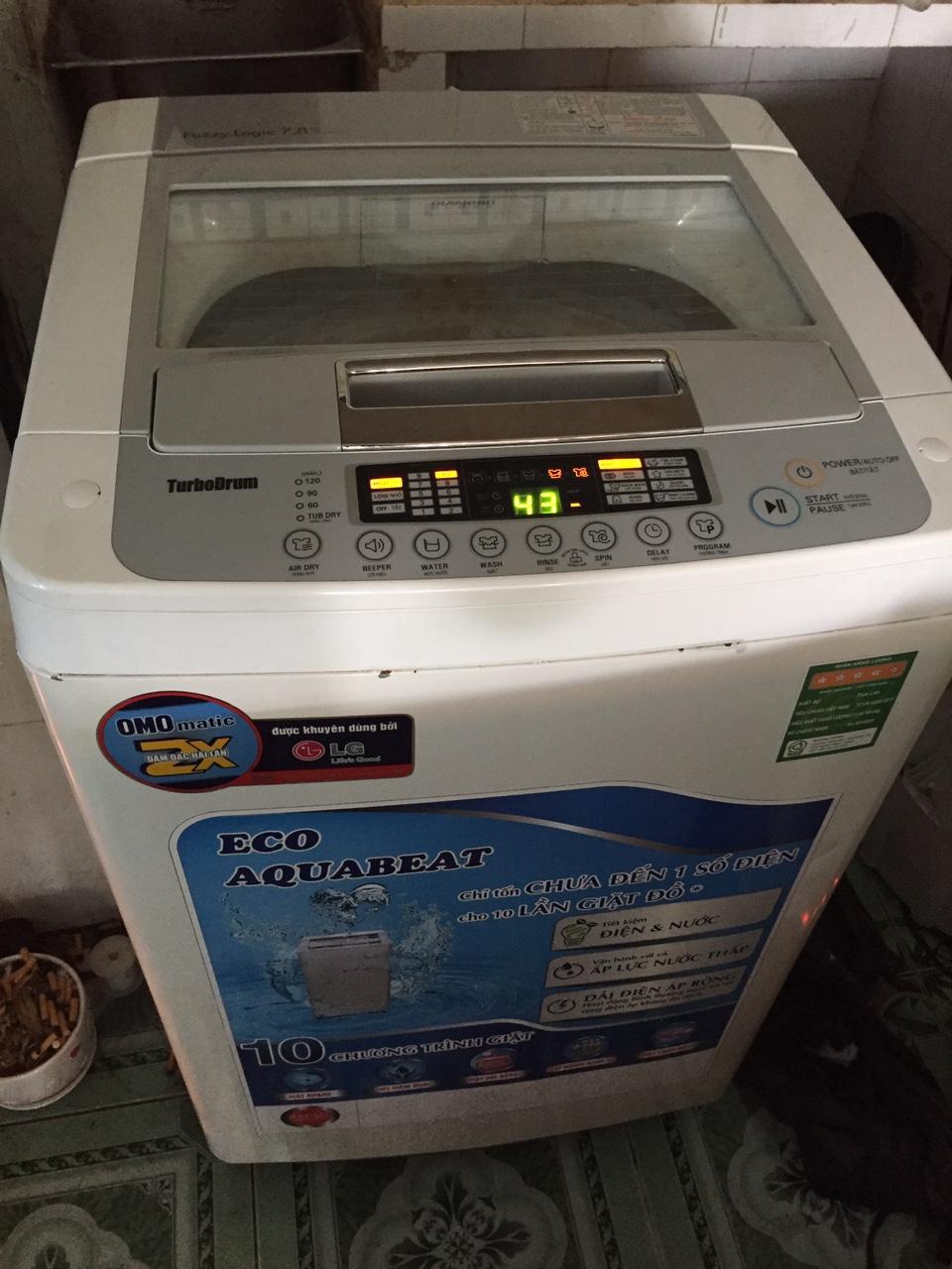 Máy Giặt Cũ LG 7,8 kg 95%-1