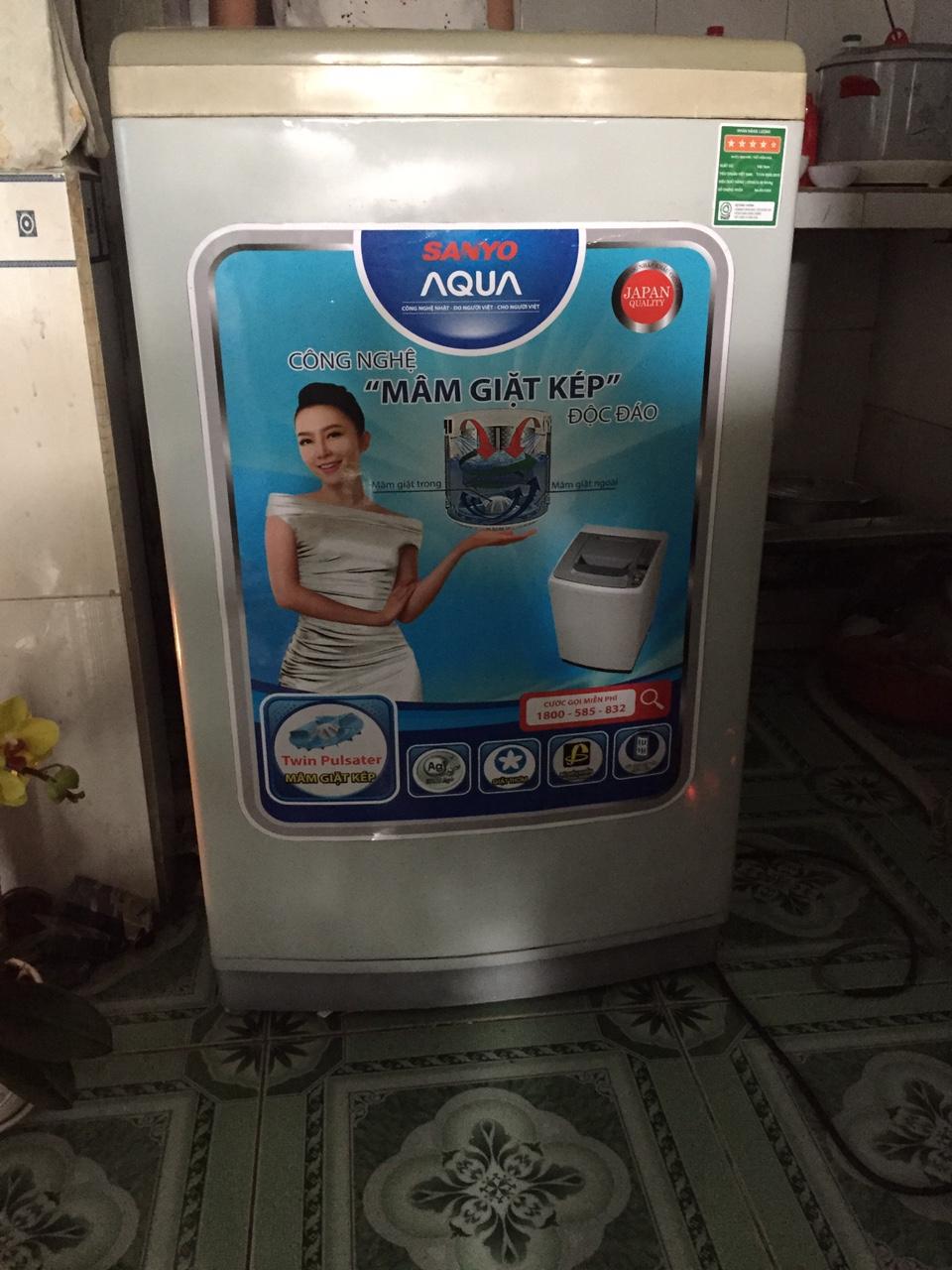 Máy Giặt Cũ SANYO 7 kg 95%-1