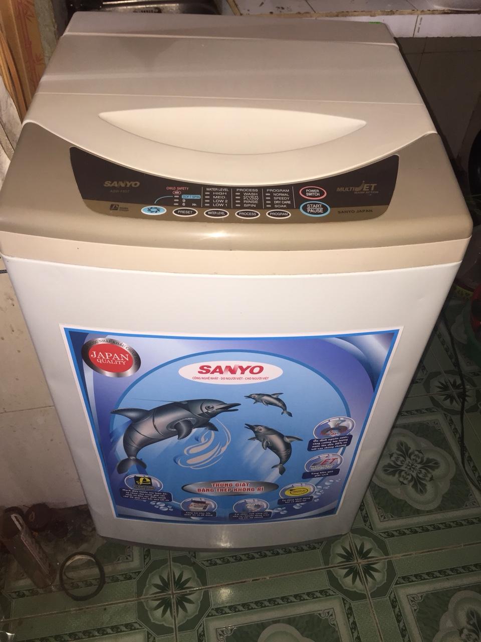 Máy Giặt Cũ SANYO 7kg 95%-1