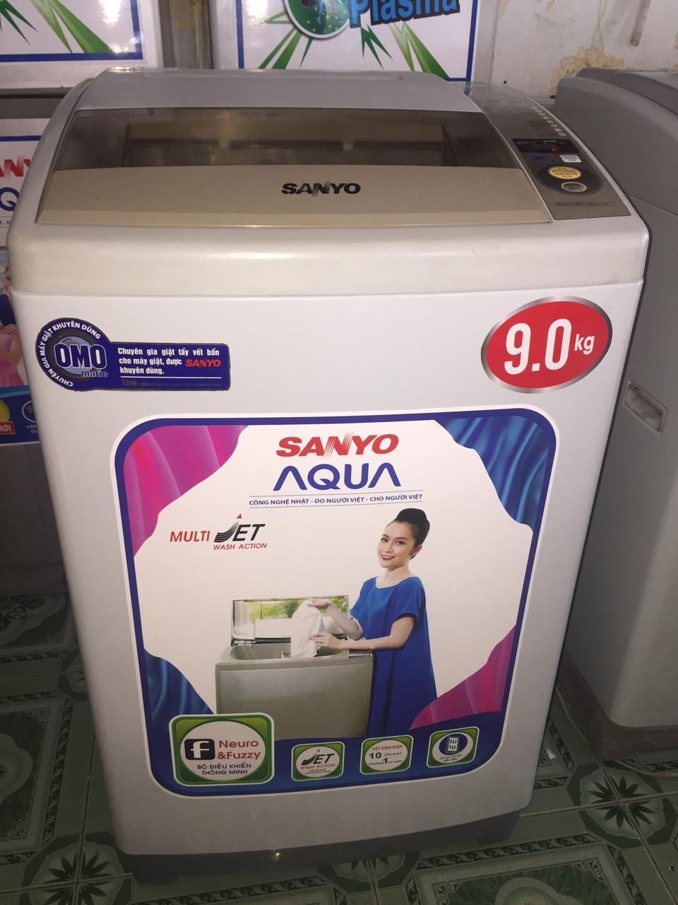 Máy Giặt Cũ SANYO 9kg 96%-3