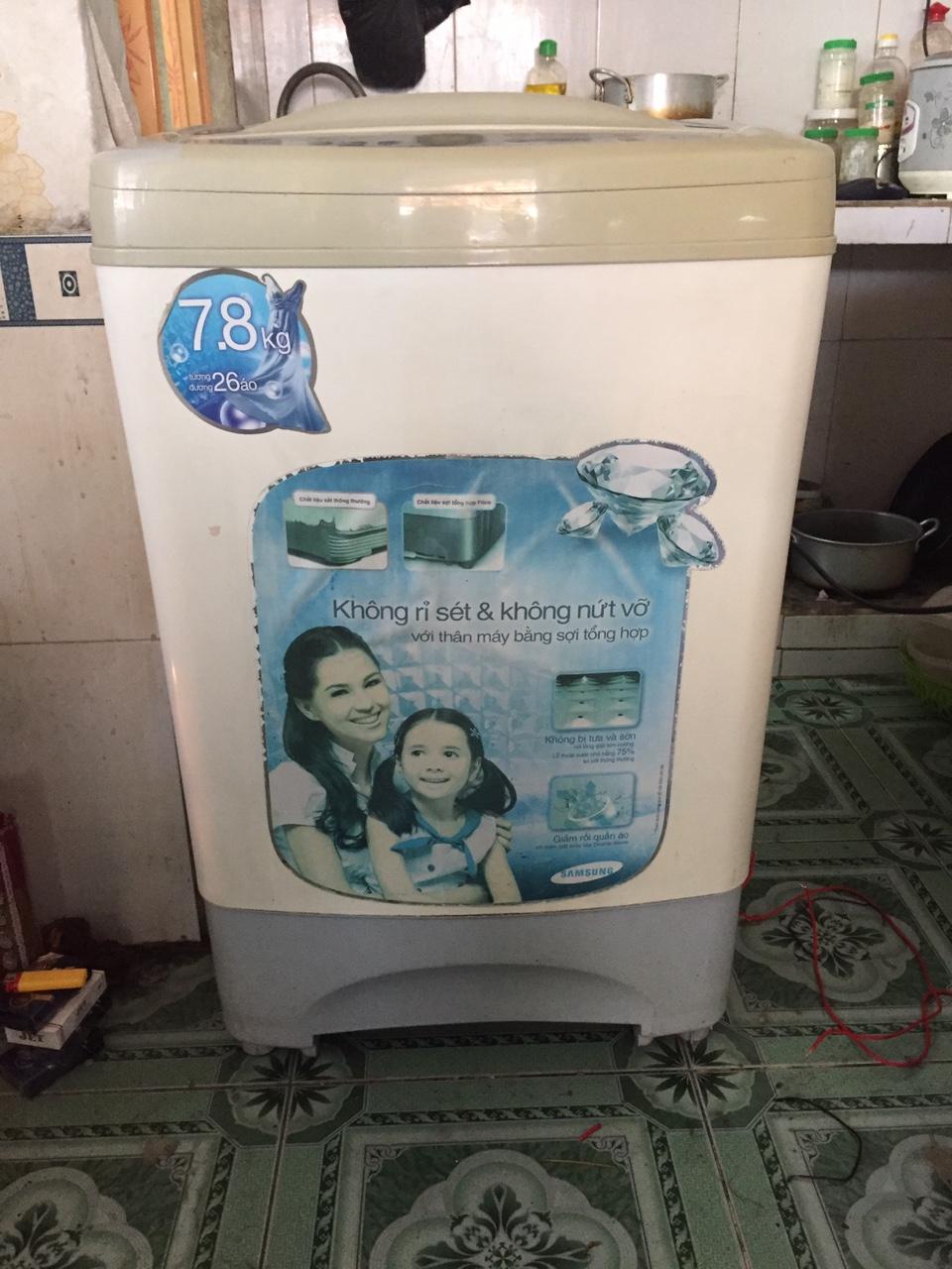 Máy Giặt Cũ Samsung 7,8 kg 95%-3