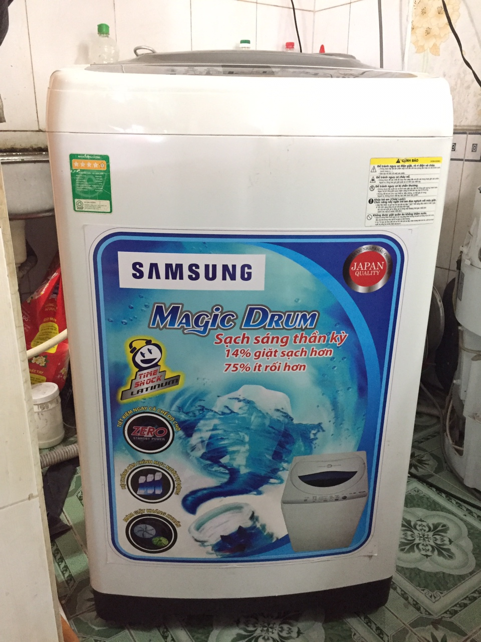 Máy Giặt Cũ Samsung 7,8 kg 98%-1