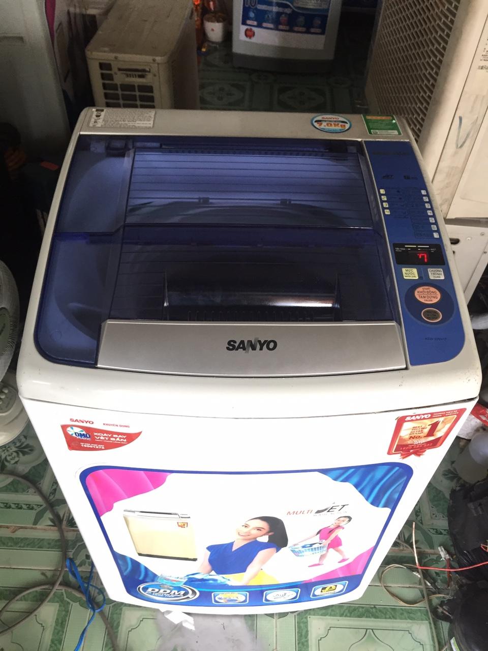 Máy Giặt Cũ Sanyo 7kg 98%-3