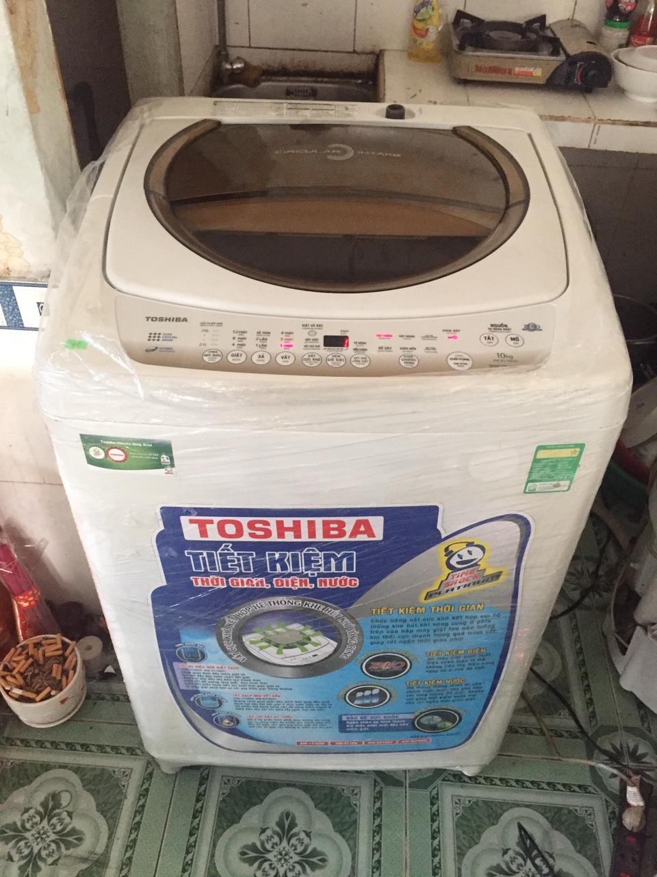 Máy Giặt Cũ TOSHIBA 10kg 97%-1