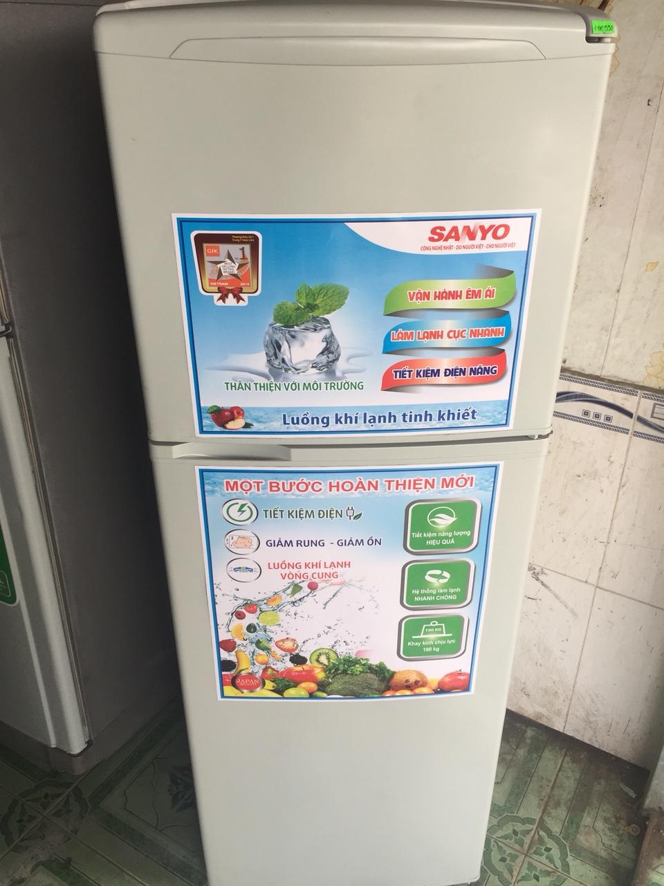 Tủ Lạnh Cũ SANYO 140L 95%-1