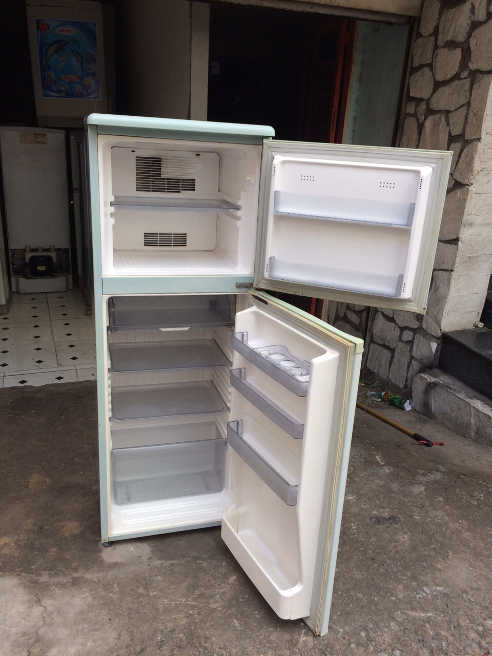 Tủ Lạnh Cũ SANYO 140L 95%-2