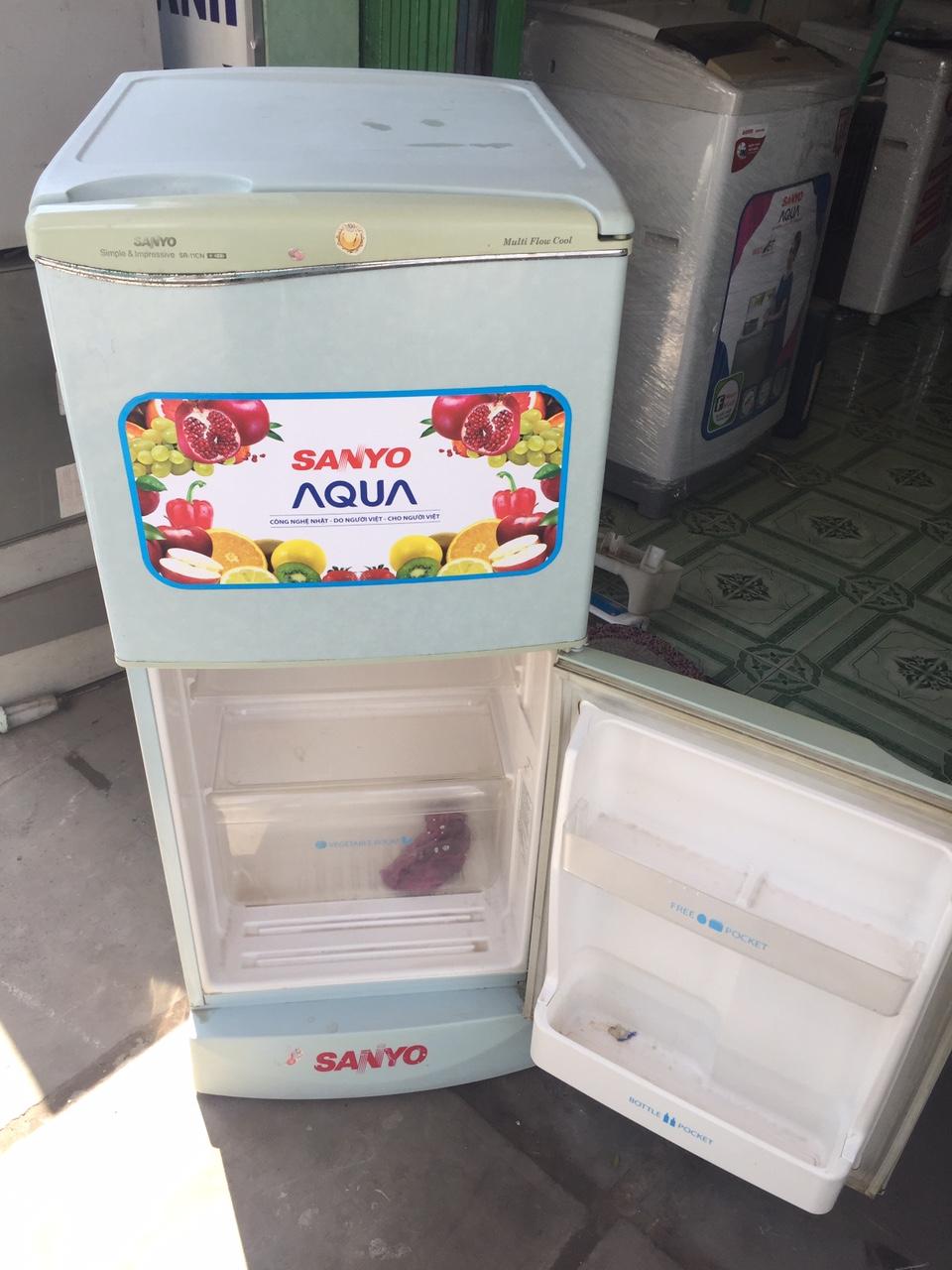 Tủ Lạnh Cũ Sanyo 120L 95%-2