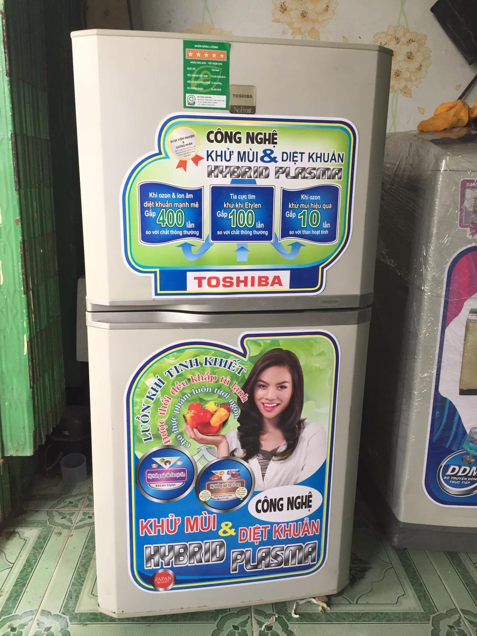 Tủ Lạnh Cũ TOSHIBA 120L 96%-1