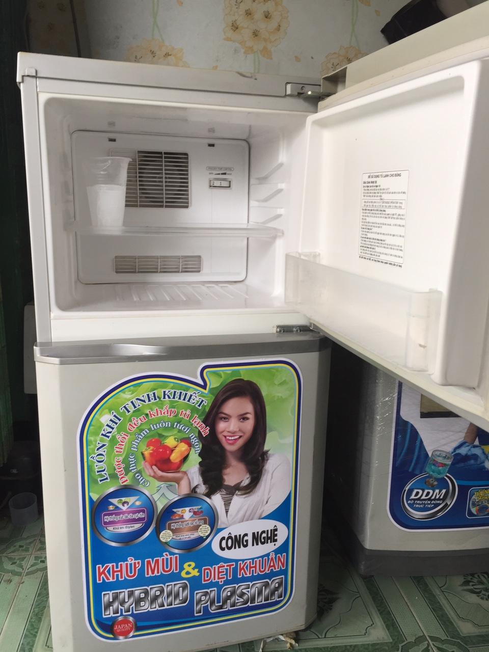 Tủ Lạnh Cũ TOSHIBA 120L 96%-2