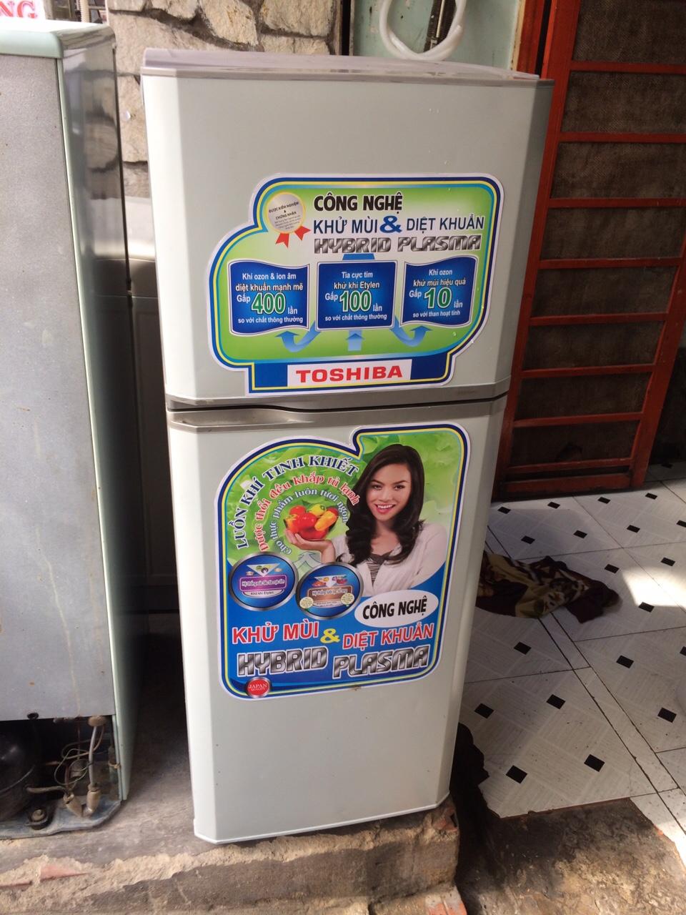 Tủ Lạnh Cũ TOSHIBA 150L 96%-1