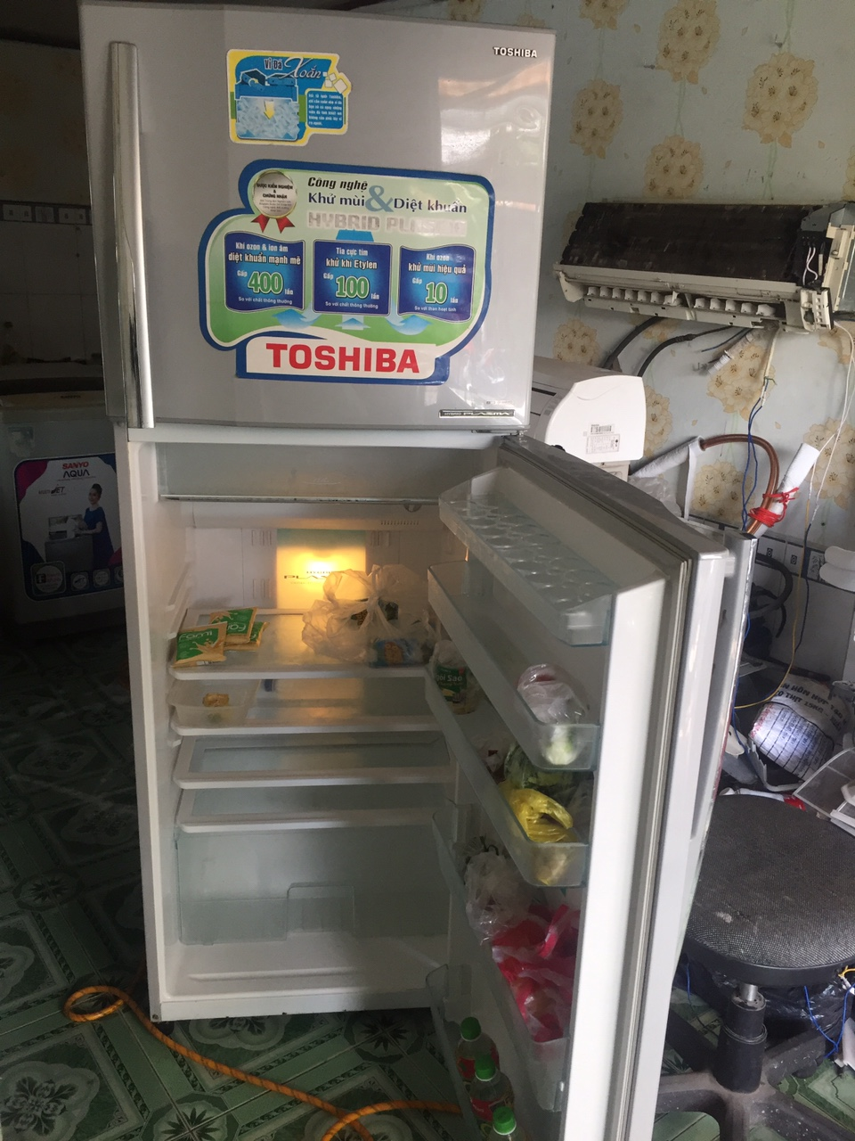 Tủ Lạnh Cũ TOSHIBA 310L 96%-3