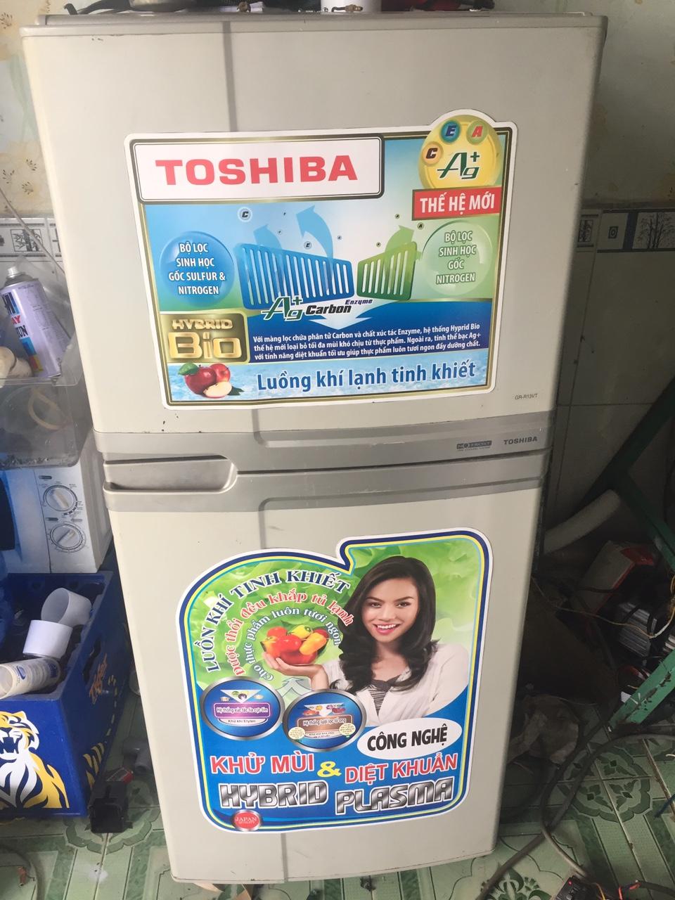 Tủ Lạnh Cũ Toshiba 120L Ngoại Hình Mới 95%-1
